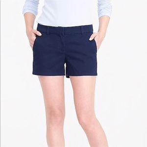 BOGO 🥂J. Crew Chino navy shorts size 00